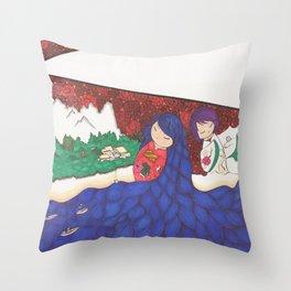 Existance Throw Pillow