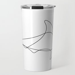 hammer - one line art Travel Mug