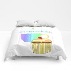 Tea Break And Cupcakes Comforters