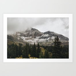 High Rockies Morning Art Print