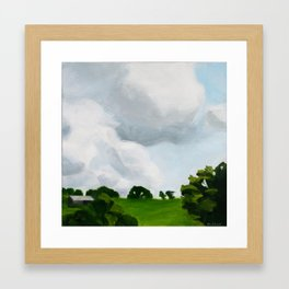 San Rafael Sky 1 Framed Art Print