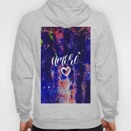 Amore Love Valentines day abstract gift Hoody