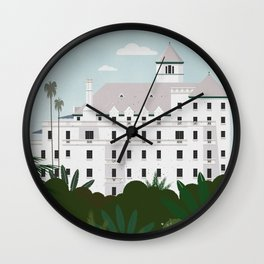 Chateau Marmont hotel Wall Clock