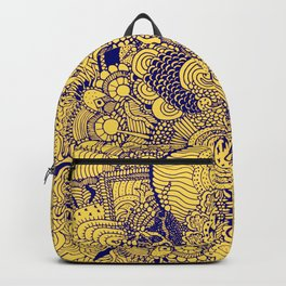 Tangled Mellow Yellow Backpack
