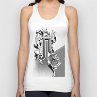 pi Tank Tops featuring PI by Artysmedia