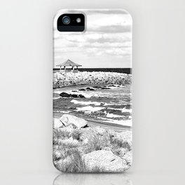 Fort Fisher walking path iPhone Case