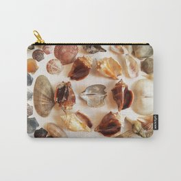 Conch Ring with Wing Oysters Carry-All Pouch