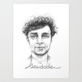 Saudade.3 Art Print