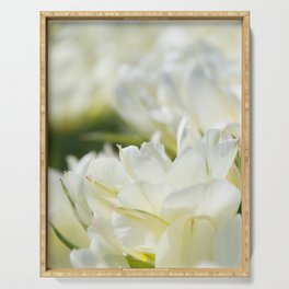 Tulips 5 #floral #tulip Serving Tray