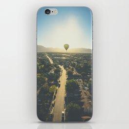 Hot Air Ballon Sunrise iPhone Skin