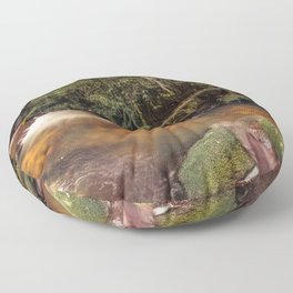 Forest Panorama Floor Pillow