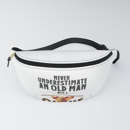 Pool Player Old Billiards Pool Lovers Snookers Fanny Pack