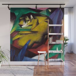 Franz Marc The Tiger Wall Mural