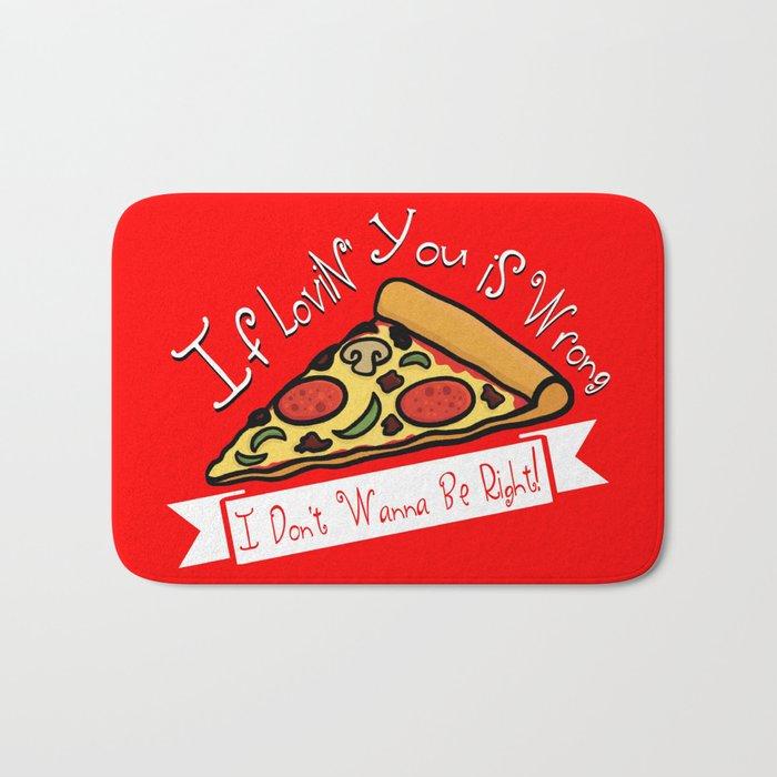 True Love  |  Pizza Bath Mat