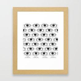 EYE2 Framed Art Print