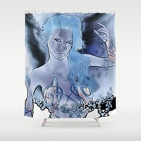 fairy Shower Curtains featuring Fairy  by nicky2342