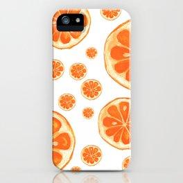 Orange You Happy iPhone Case