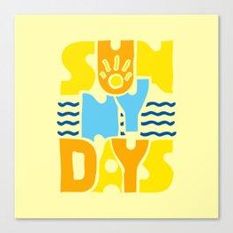 Sunny Days 2 Canvas Print