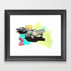 Low Rider Framed Art Print