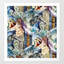 Texture C10 Art Print