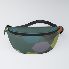 cluster || green night Fanny Pack