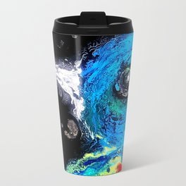 The Flickering Warrior Travel Mug