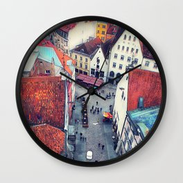 Tallinn art 6 #tallinn #city Wall Clock