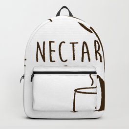 COFFEE NECTAR OF THE GODS T-SHIRT Backpack