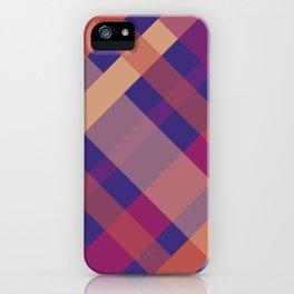 Violet Madras I iPhone Case