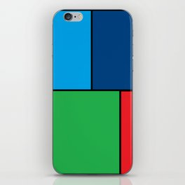 Colorful Masterpiee iPhone Skin