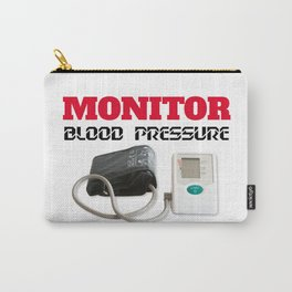 Blood pressure monitoring Carry-All Pouch