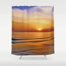 Still Night Shower Curtain