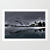 alaska Art Prints featuring Alaska by Chris Root