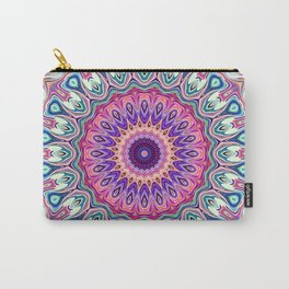 Colorful Ornate Mandala Carry-All Pouch