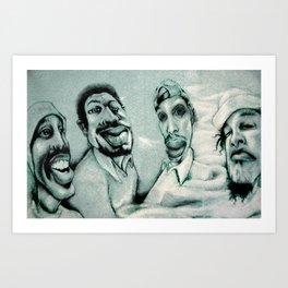 pharcyde tour shirt design :::limited edition::: Art Print