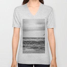 Stormy Beach Unisex V-Neck