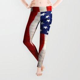 The US Flag Leggings