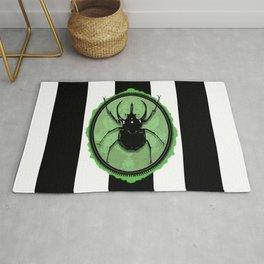 Juicy Beetle GREEN Rug