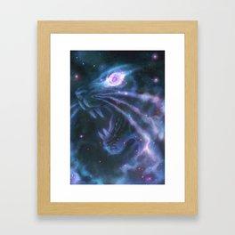 Helix Nebula Framed Art Print