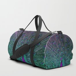 BLOOMING PEACOCK Duffle Bag
