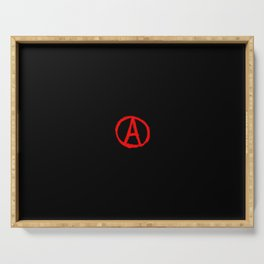 Symbol of anarchy 4 Serving Tray