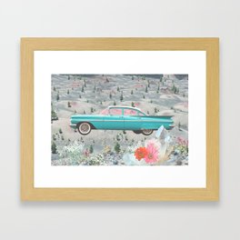 Magic Ride Framed Art Print