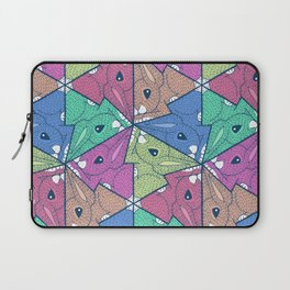 Colourful baby rabbits Laptop Sleeve