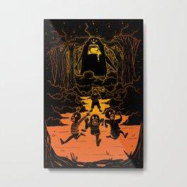 Ruuuun!! Metal Print