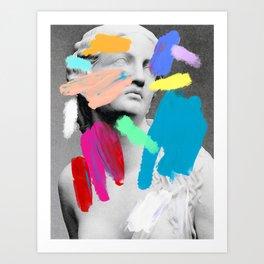 Composition 721 Art Print