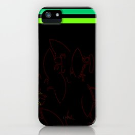 Ulu with 2 stripes iPhone Case