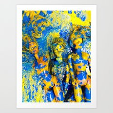 Doll Collective Art Print