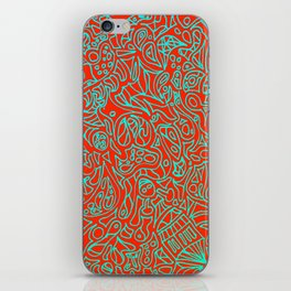 Crazy Zentagle iPhone Skin