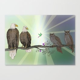 The Middle Canvas Print