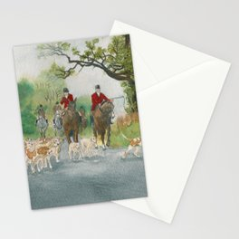 Fox Hunt 2 Stationery Cards